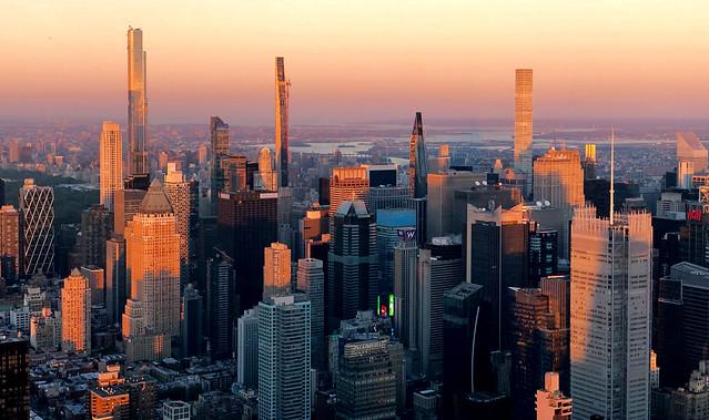 Sunset Glow - Manhattan, New York City