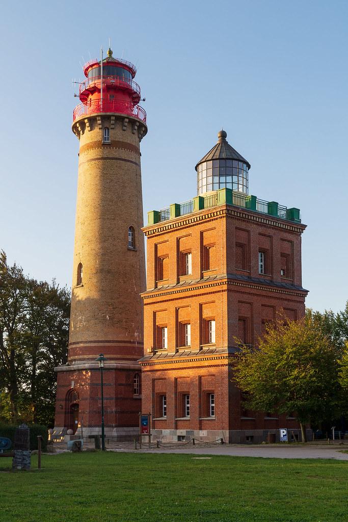 Cape Arkona, lighthouses