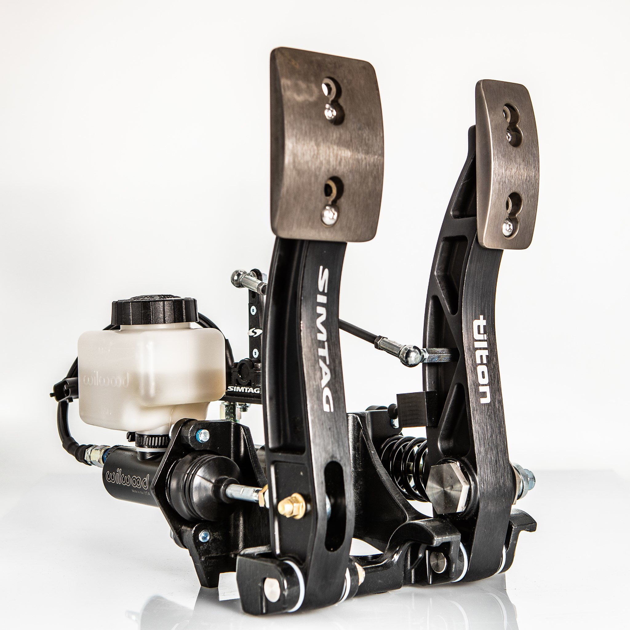 Simtag Hydraulic 2-pedal set Racer Edition 5