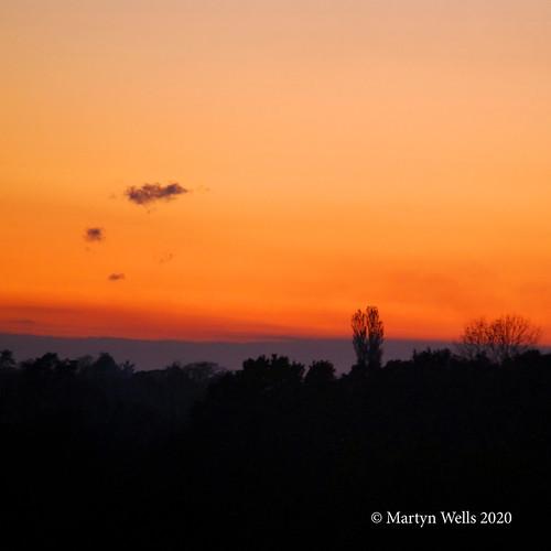 d60 theamateursgroup unlimitedphotos landscape sunset silhouette red sky cloud essex braintree braintreeessex nikonflickraward