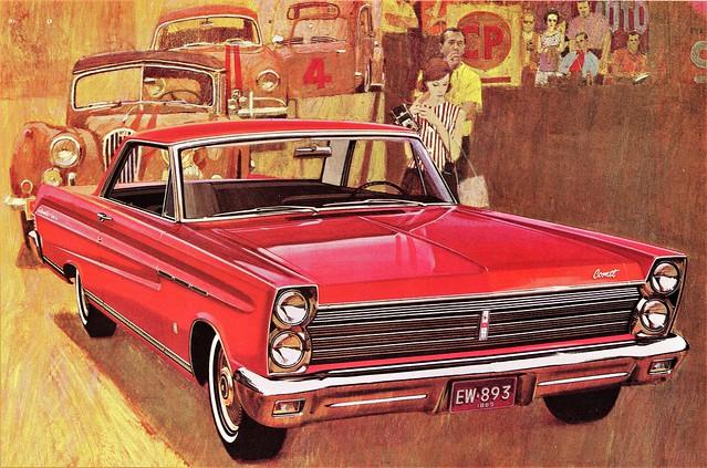 1965 Mercury Comet Caliente Two-Door Hardtop