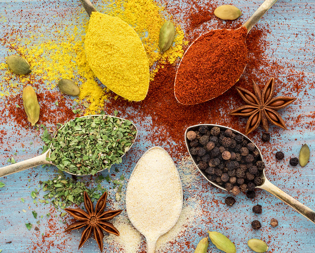 INTERNATIONAL:  Homemade herbs and Sprices