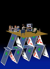 Family on the House-of-Cards