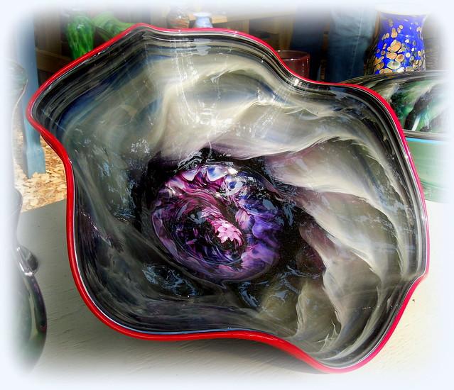 art glass swirl