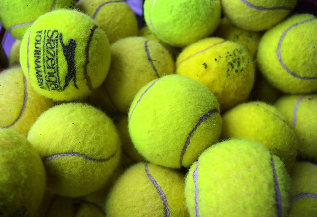 Image of yellow tennis balls
