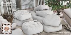 Pitaya - Morroco Dreams White - Seat Pillows