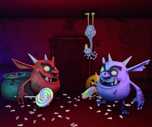 The Dark Fae - Candy Thieves