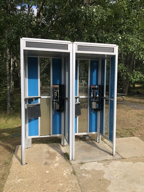 Cantebury, NH Rest Area Payphones Front