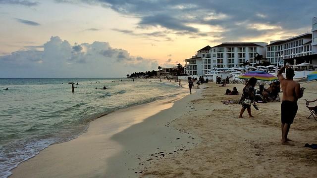 Evening Beach Stroll