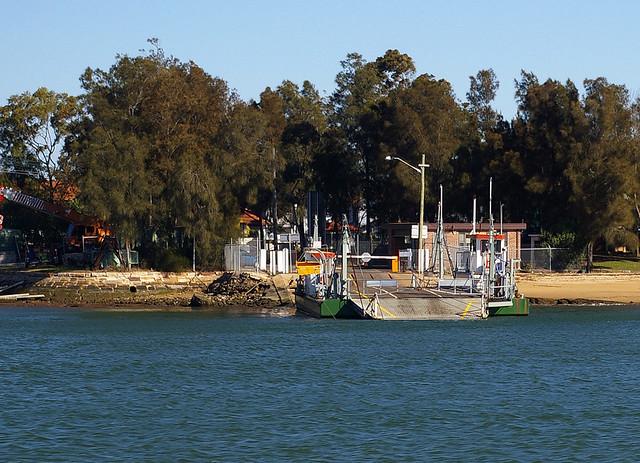 Putney Punt Vehicular Ferry aka Mortlake Ferry