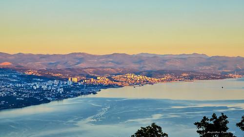 rijeka kvarner primorskogoranska croatia landscape krajolik zalazak sunset bojezalaska sunsetcolors flickrunitedaward