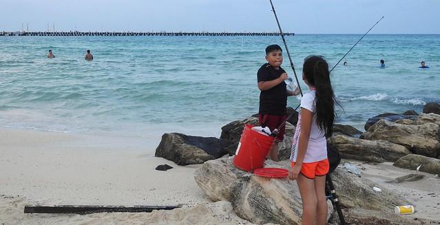Fishing Siblings