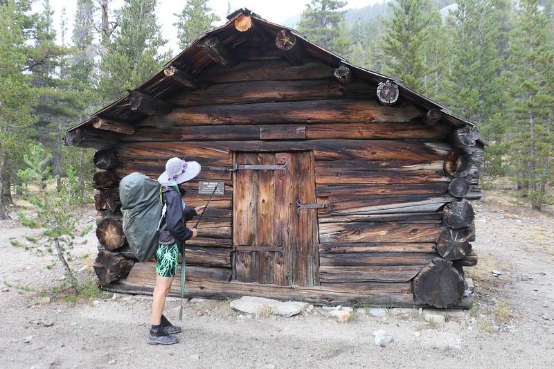 Old Big Arroyo Patrol Cabin at Big Arroyo Camp on the High Sierra Trail