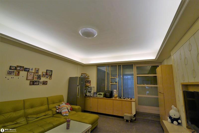 吸頂燈推薦 親愛的,我把燈換了!Toshiba RGB 星鑽80W LED 美肌吸頂燈開箱文