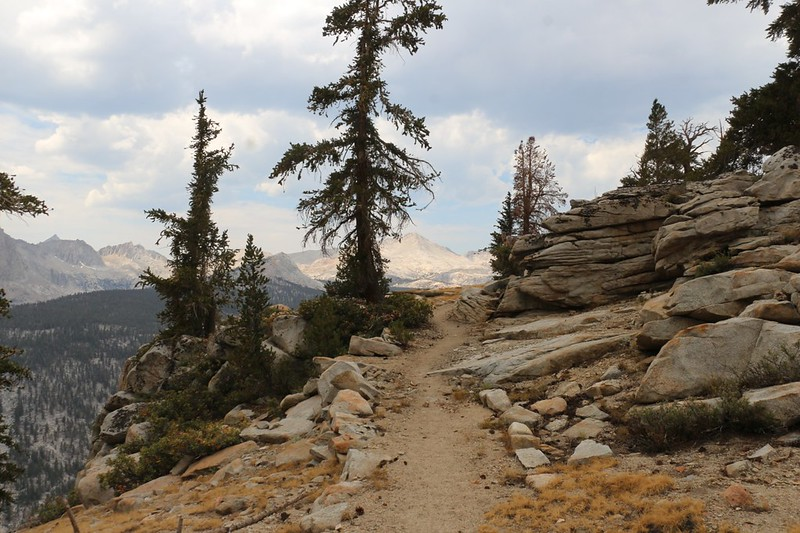 Great views over Big Arroyo as we continue northwest on the High Sierra Trail