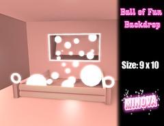 Ball of Fun Backdrop