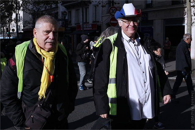 Acte 52 des Gilets jaunes ✔ Paris le 9 nov. 2019 IMG191109_026_©2019 | Fichier Flickr 1000x667Px Fichier d'impression 5610x3740Px-300dpi