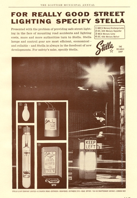 Stell, the reliable lamp : advert issued 1963