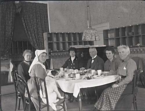 De leiding van de vluchtelingenopvang, 1918