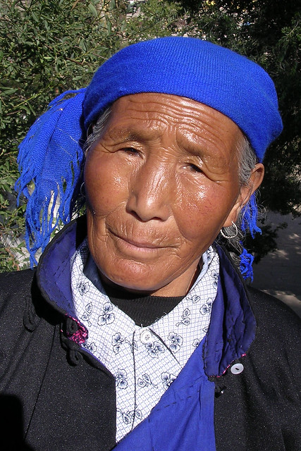 Femme de l'ethnie Tu (3)
