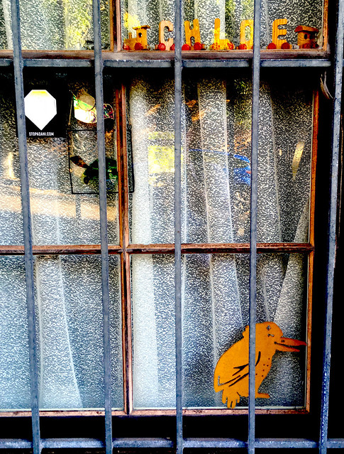 Chloe's window.