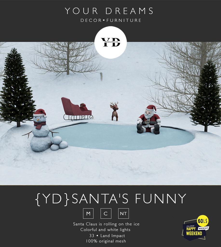 {YD} Santa's Funny