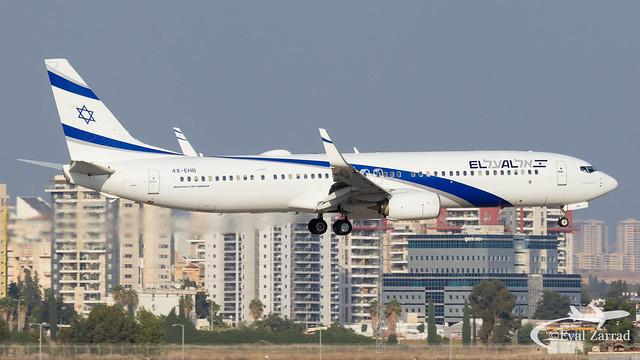 TLV - El Al Boeing 737-900 4X-EHB