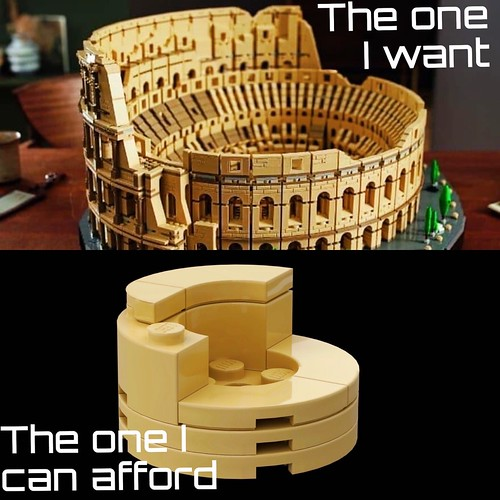 [LEGO] Colosseum- what I want and what I can afford