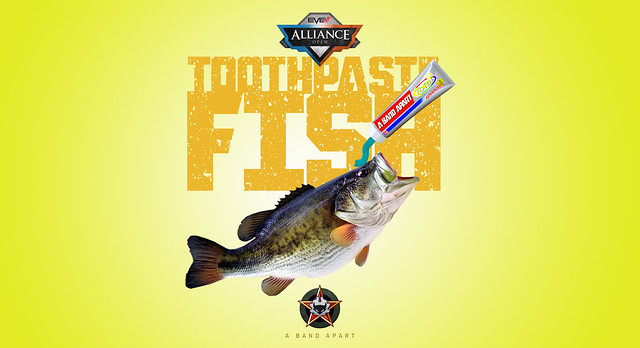 ABA Toothpaste Fish Wallpaper