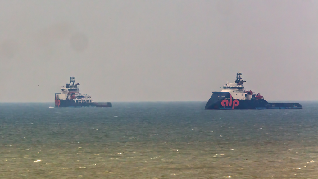 ALP SWEEPER (l) & ALP STRIKER (r)