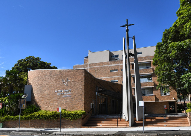Sacred Heart Catholic Church, Mosman, Sydney, NSW.