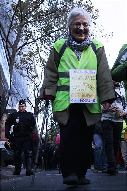 Acte 52 des Gilets jaunes ✔ Paris le 9 nov. 2019 IMG191109_011_©2019   Fichier Flickr 1000x667Px Fichier d'impression 5610x3740Px-300dpi