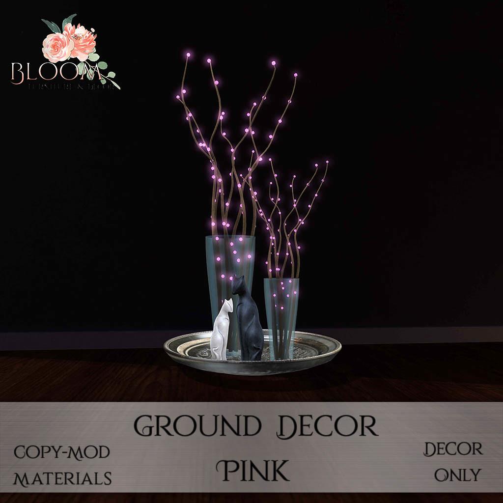 Bloom! – Ground Decor PinkAD