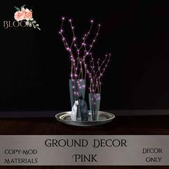Bloom! - Ground Decor PinkAD