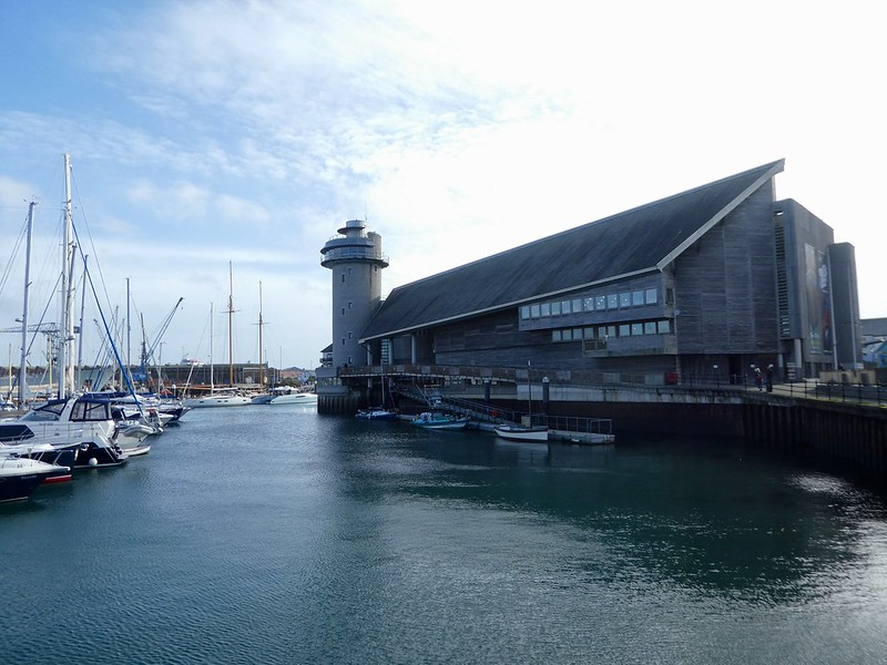 The National Maritime Museum Cornwall in Falmouth