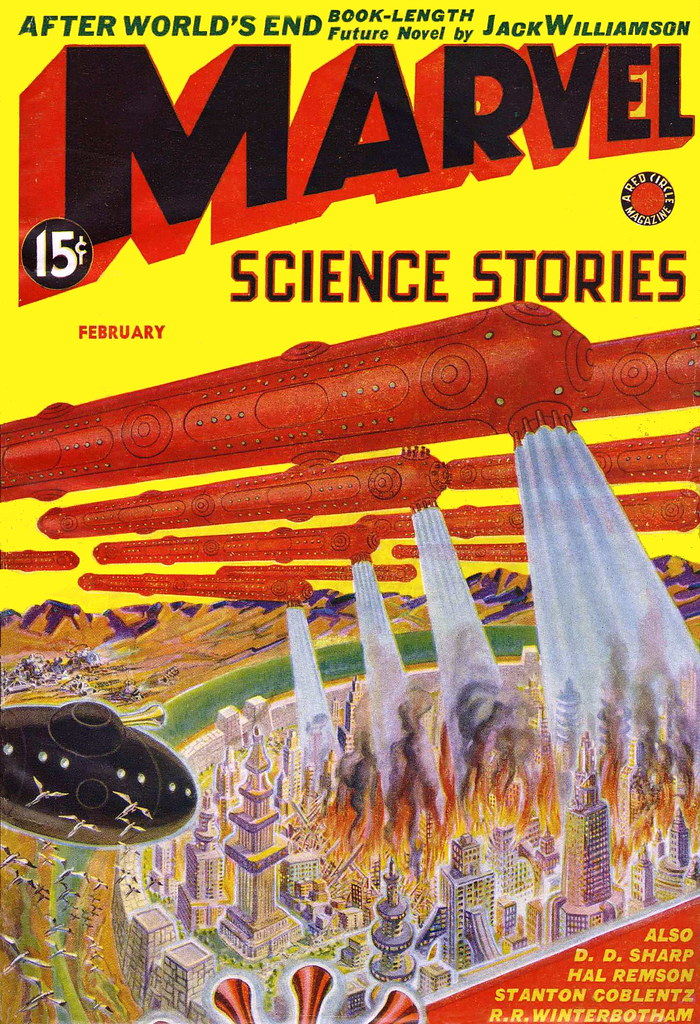 Marvel Science Stories / February 1939