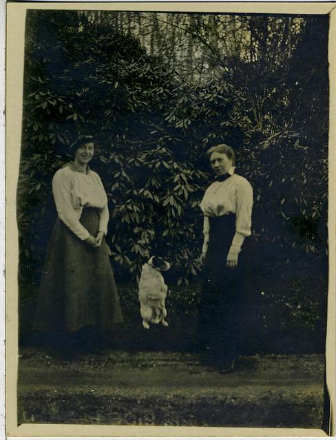 Pluck met Folmina en dochter Mini de Goeijen