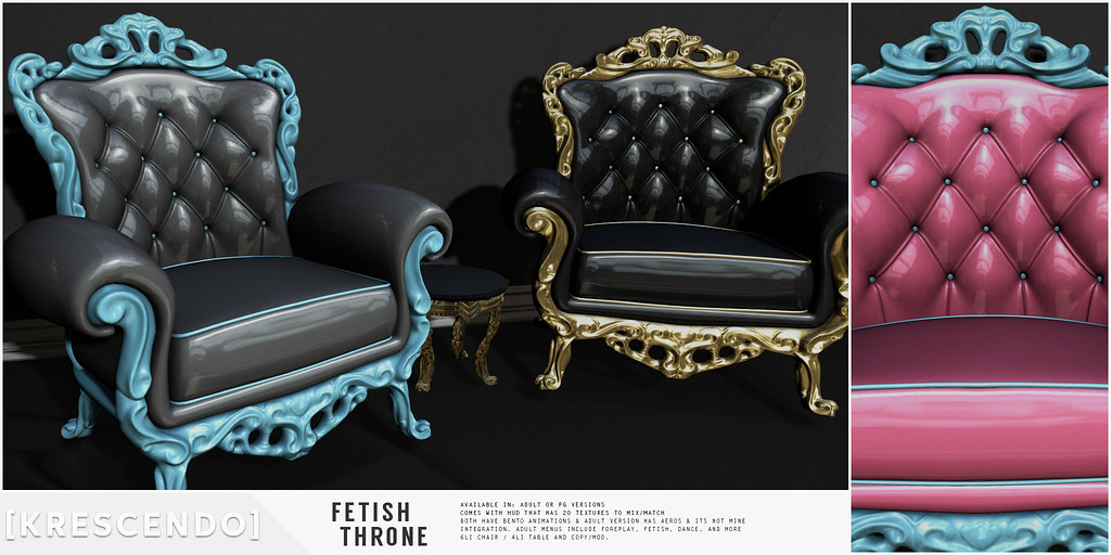 [Kres] Fetish Throne