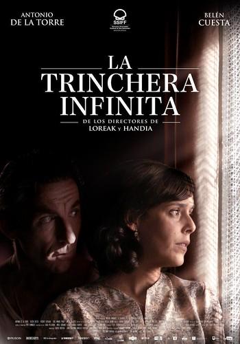 Cartel de la película.La Trinchera Infinita