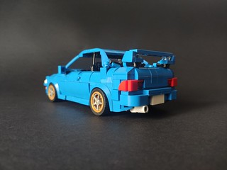Subaru Impreza type r from Initial D instructions on my Rebrickable