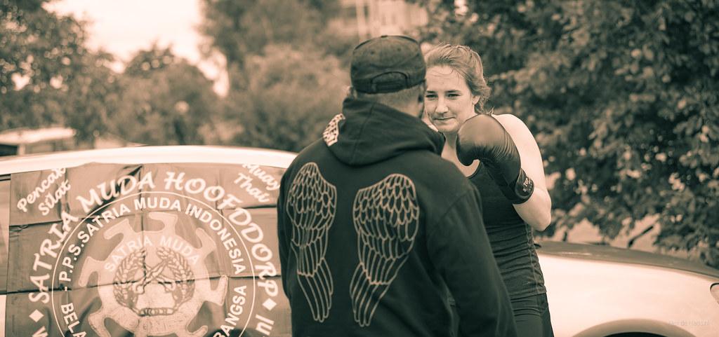 Boxing Girl.