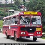 NC-1120 Diulapitiya Depot Ashok Leyland - Viking 210 Turbo B+ type Bus at Nuwaraeliya in 11.11.2019