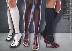 SPIRIT - Winnie sandals & socks @ Kustom9 (November, 15)