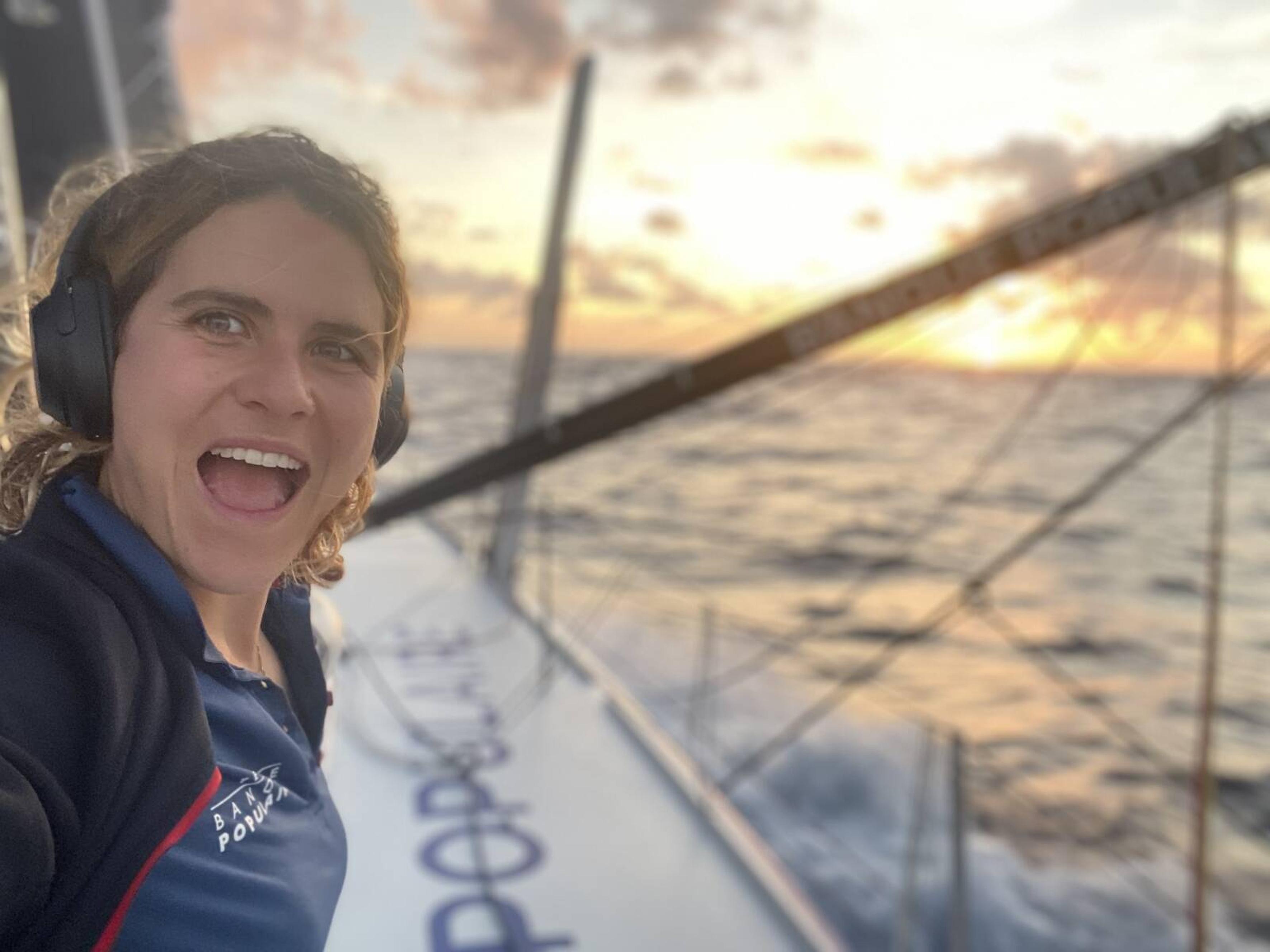 Clarisse Crémer - Vendée Globe - 14/11/2020