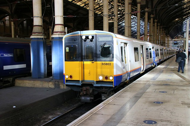 Last Time Out Of Liverpool Street