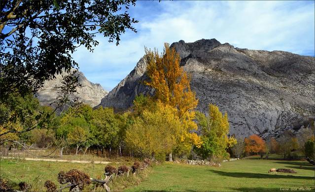 El otoño avanza lento en el valle del Curueño - León