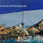 Da Ansa 70x200 ÖL auf Leinwand Mix Media 2020 zesi 52