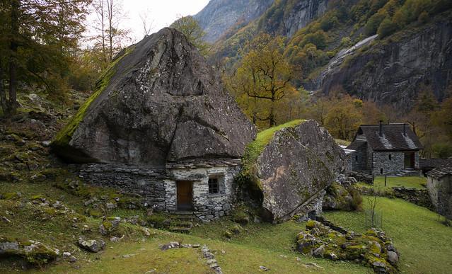 boss house . Sabbione, Valle Bavona - Ticino, Svizzera
