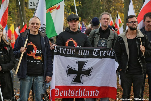 2020.11.14 Potsdam - Reichsbuerger-Kundgebung und Protest (1)