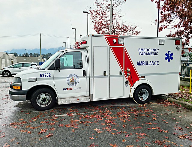 British Columbia Ambulance Service, North Vancouver, BC Ambulance 63232